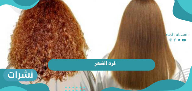 فرد الشعر طبيعياً.. 4 وصفات سهلة للحصول على شعر ناعم ومفرود وصحي