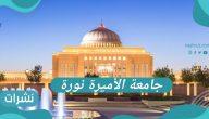 تخصصات جامعة الاميرة نورة