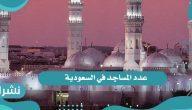 عدد المساجد في السعودية
