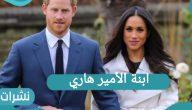 ابنة الأمير هاري وموقف القصر الملكي