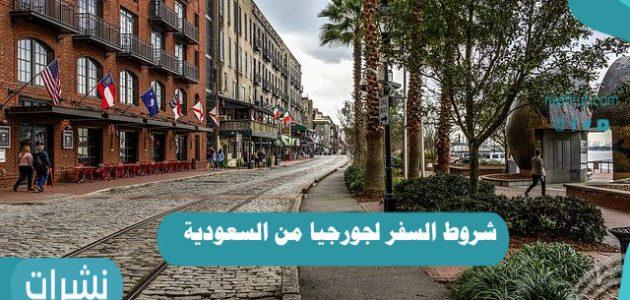 شروط السفر لجورجيا من السعودية   رسوم السفر من المملكة لجورجيا بالريال السعودي