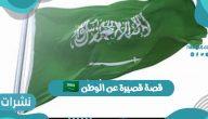 """قصة قصيرة عن الوطن """"في حب السعودية"""""""