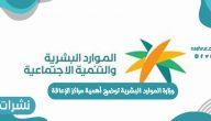 وزارة الموارد البشرية توضح أهمية مراكز الإعاقة 1442 في المملكة السعودية