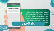 رقم الحدود للوافدين إلى المملكة العربية السعودية لعام 2021