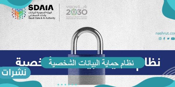 نظام حماية البيانات الشخصية الجديد وأهم التفاصيل عنه