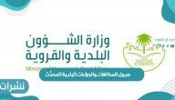 جدول المخالفات والجزاءات البلدية المحدَّث داخل المملكة العربية السعودية