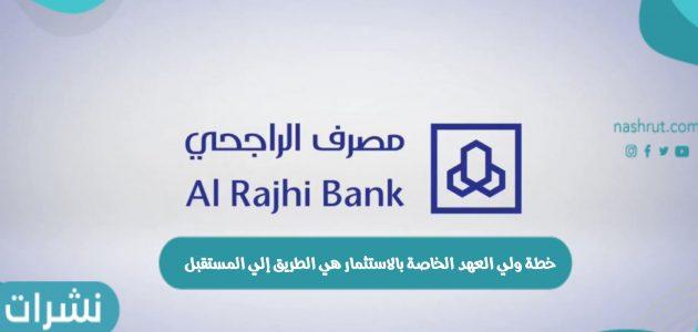 خطة الاستثمار الخاصة بولي العهد السعودي هي الطريق إلي المستقبل